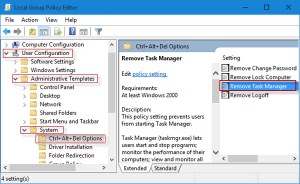 Task Manager Fix