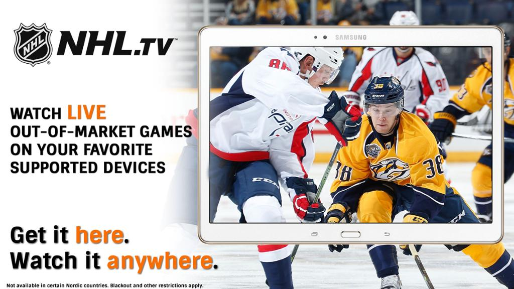 NHL TV: Live Games Video & Streaming Schedule