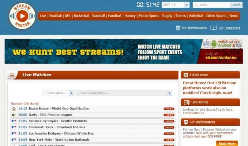 Sport Streams