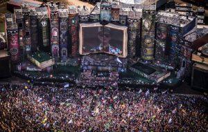 Festivals or concerts